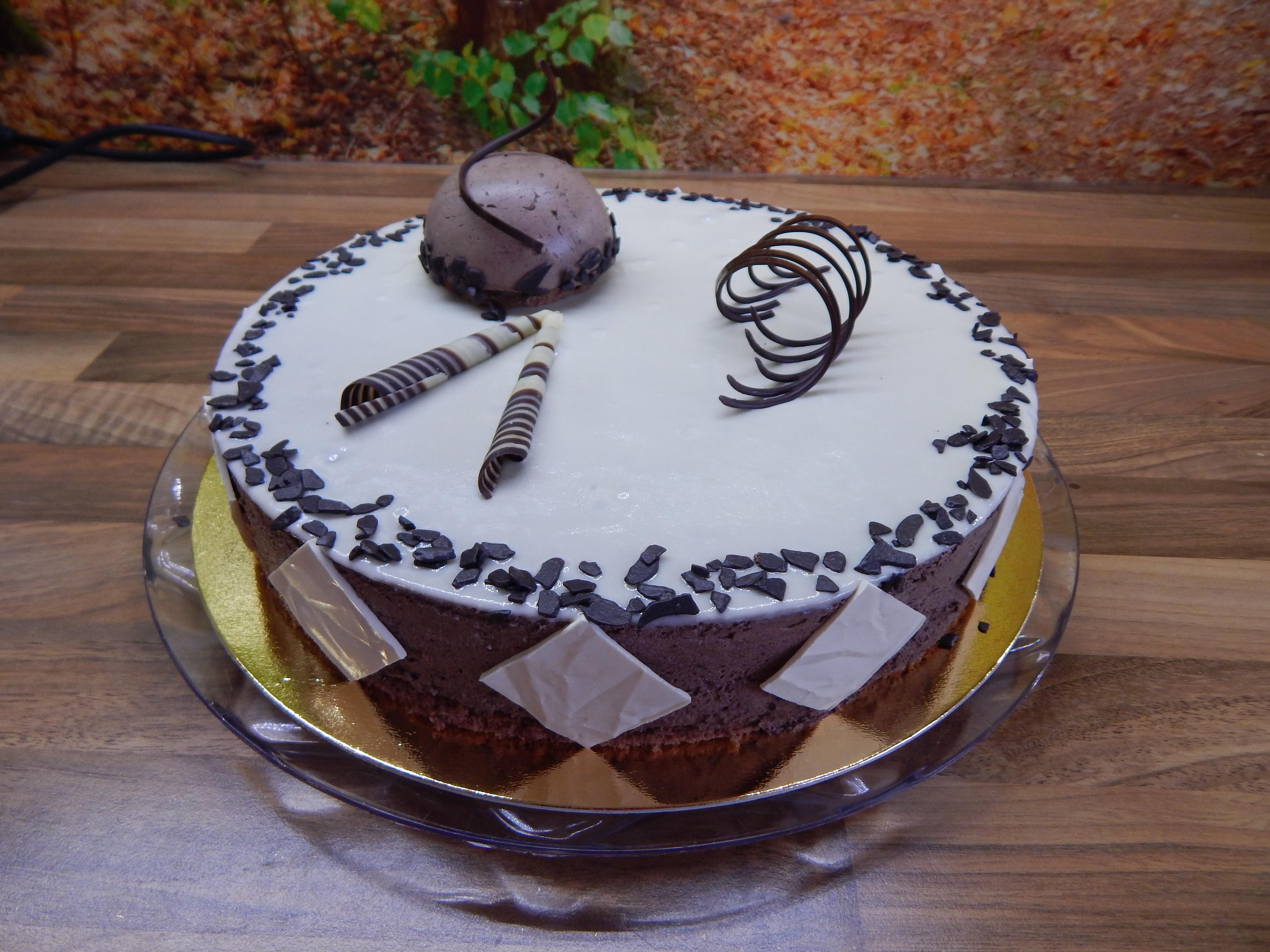 Dort čokoládový šlehačkový