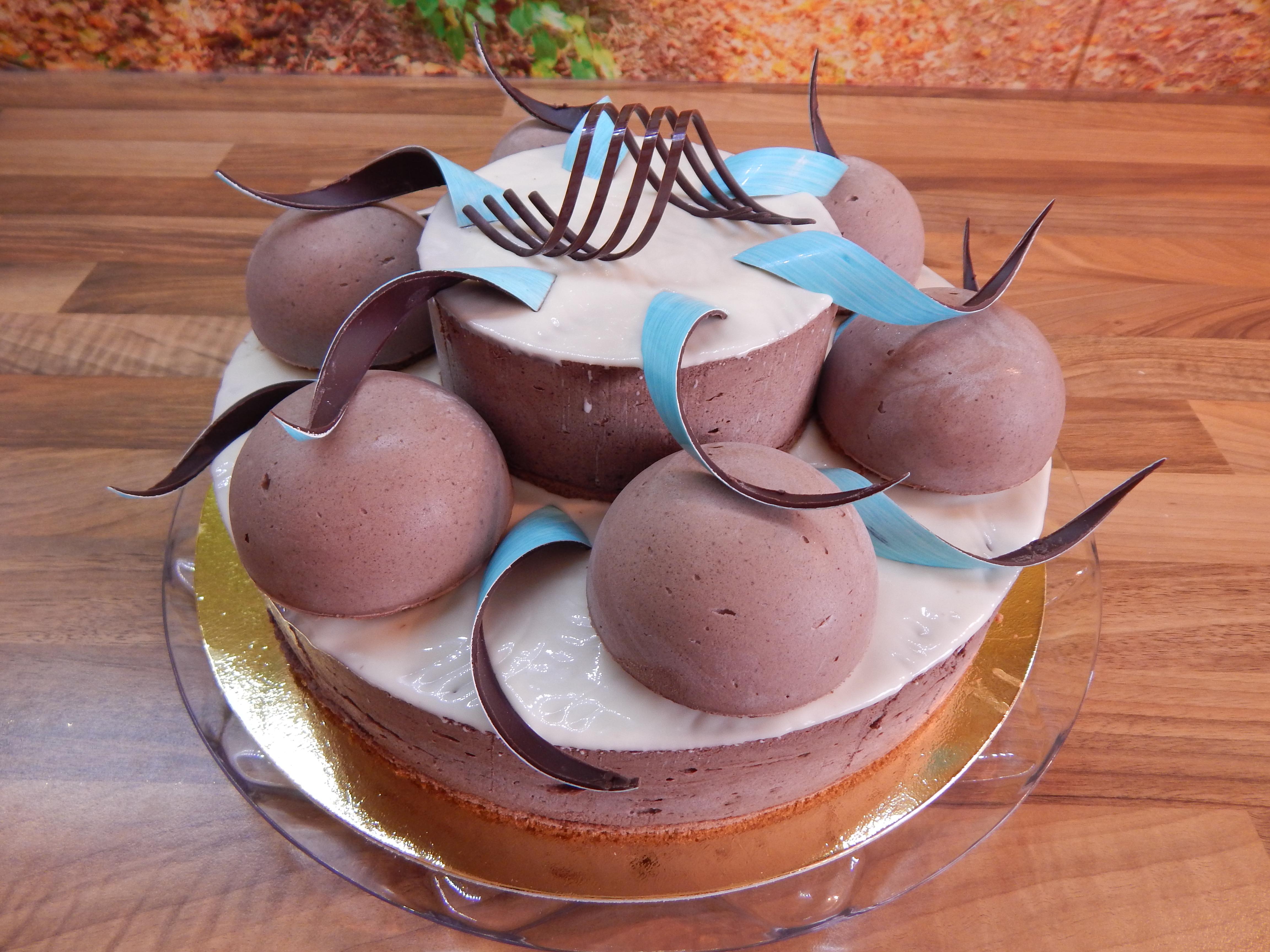 Dort čokoládový patrový 2