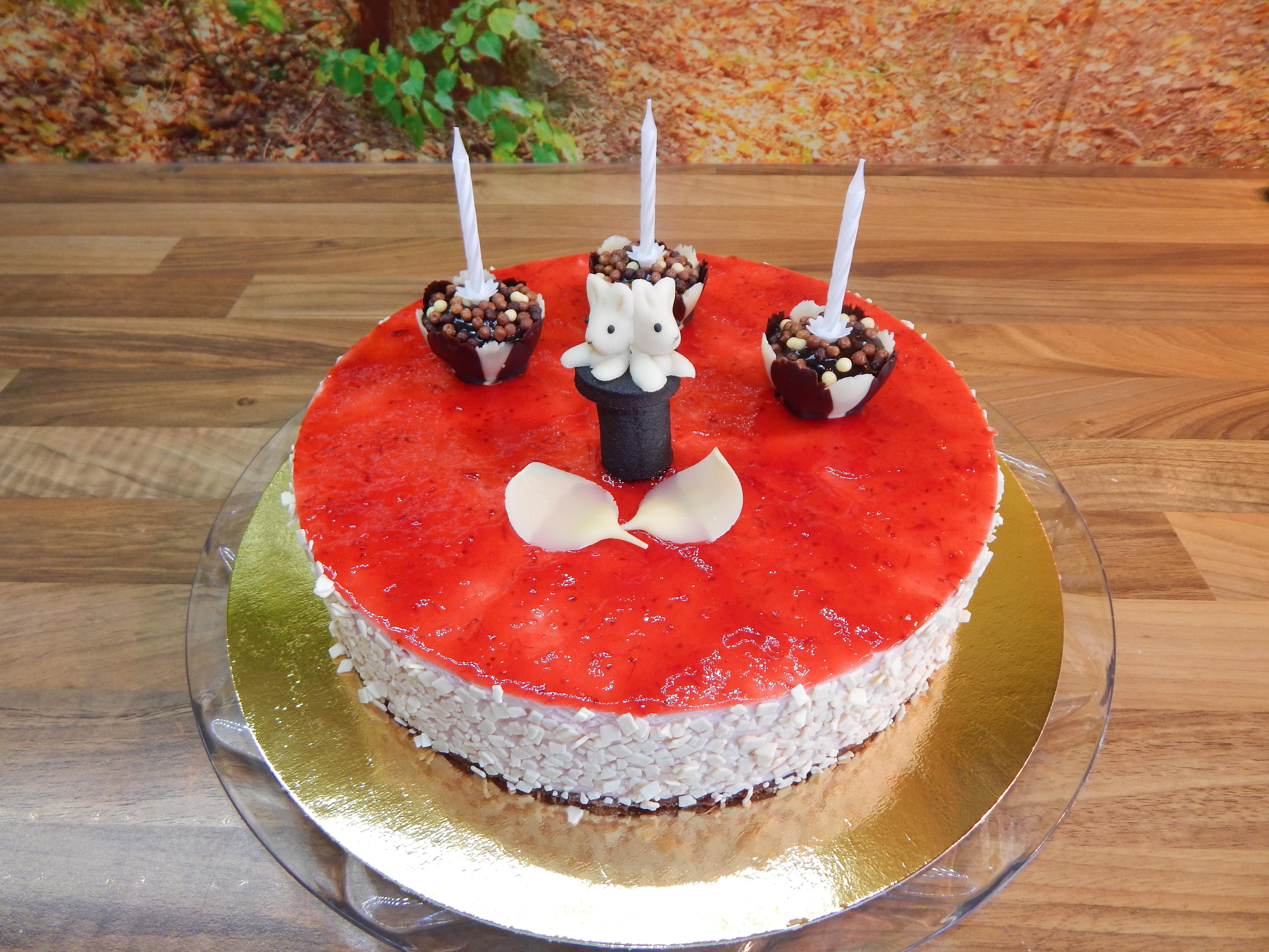 Jahodový dort 3