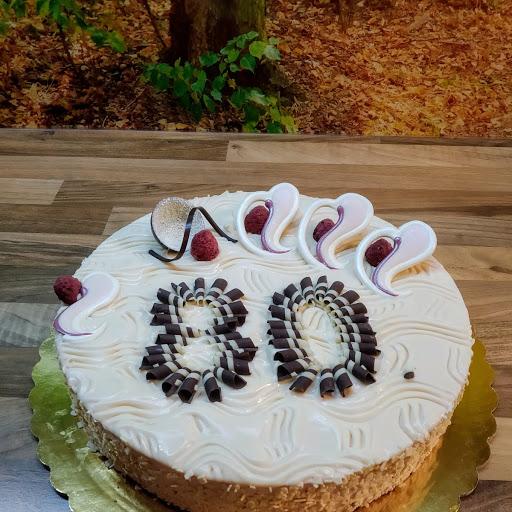 Malinový dort 3